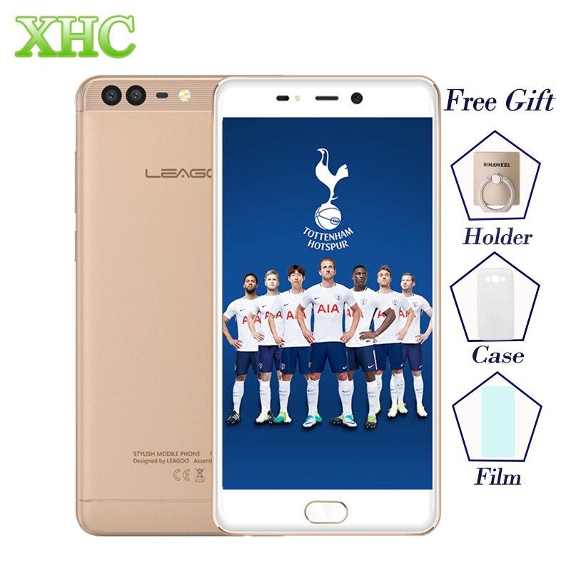 LEAGOO T5c 5.5 polegadas de Smartphones 3 GB de RAM 32 GB ROM Android 7.0 Octa núcleo 13.0MP 5.0MP + Fingerprint FOTA OTG Telefones LTE 4G Móvel