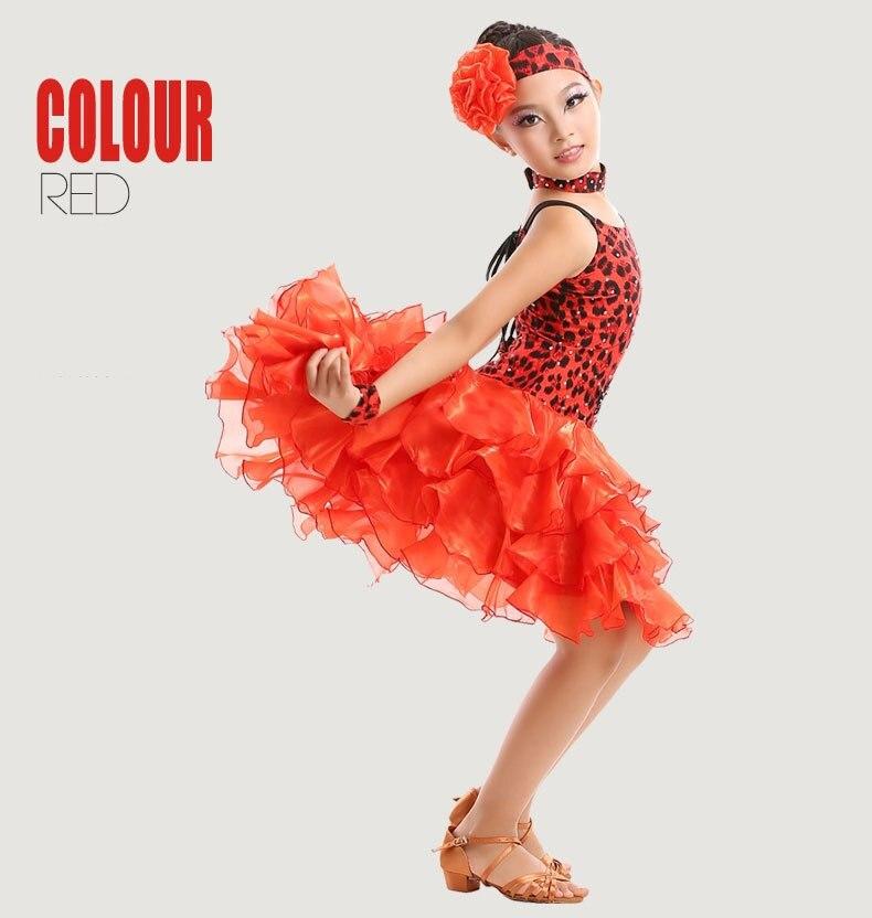 1b3ca5deeff6 Latin Dance Dress Children Hand sewing Stone Girls Dance Dress Kids  Ballroom Dance Competition Rumba/Cha Cha/Tango Dresses 180-in Ballroom from  Novelty ...