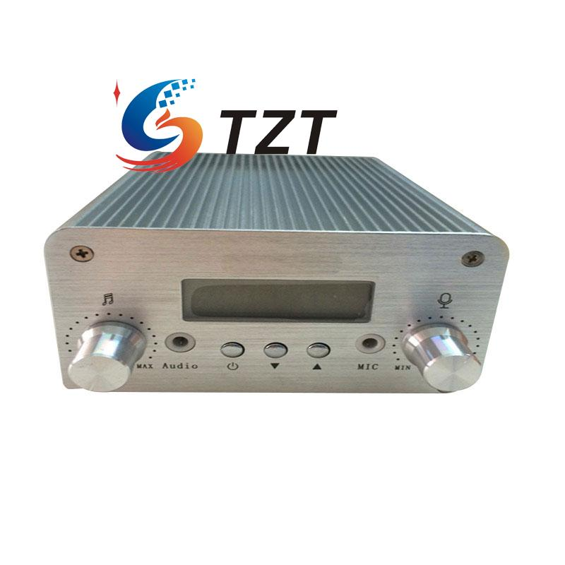 NIO-T6A FM Radio Audio Signal Amplifier Transmitter 1W/6W Device 76mhz to 108mhz free shipping hot selling nio t6a 1w 6w stereo pll fm transmitter fm radio amplifier