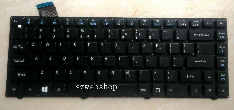 """New for acer Aspire Cloudbook 14/"""" AO1-431-C8G8 AO1-431-C2QB laptop US keyboard"""