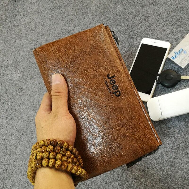 2018 Luxury Brand Men Wallets Long Men Purse Wallet Male Clutch Leather Zipper Wallet Men Business Male Wallet Coin KS1B1731 fashion men small wallet clutch pu leather business male wallets zipper