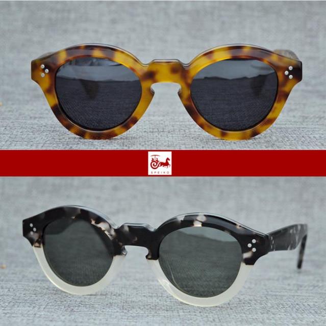 ca3f7dfe39 SPEIKO Hand Made Myopia Sunglasses Reading Sunglasses Mask Retro Grueso  Style Colorful Eyewear UV400 Rainbow Vintage