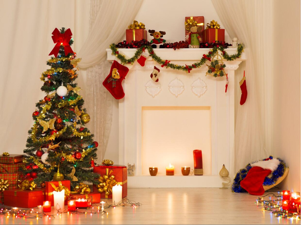 SHENGYONGBAO Vinyl Custom  Christmas theme Photography Backdrops Prop Photo Studio Background YHSHD-12 mehofoto 8x12ft vinyl photography background christmas theme backdrops light for children snow for photo studio st 328