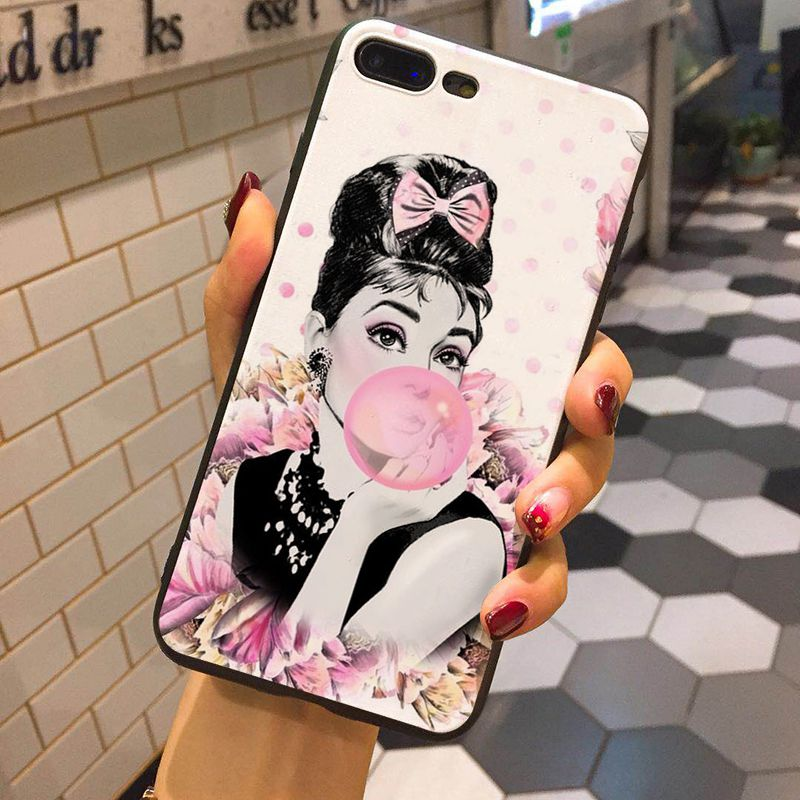 Phone Bags & Cases Strict Girl Painting Art Cute Soft Tpu Silicone Matte Case Fundas Coque Cover For Iphone 6 6s 5 5s Se 8 8plus X 7 7plus Xs Max Cellphones & Telecommunications