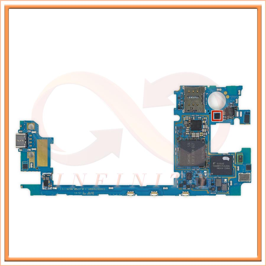 in stock 100 test working for lg nexus 5x motherboard logic board smartphone repair replacement [ 900 x 900 Pixel ]