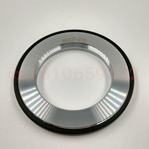 Черный M42-FD металлический M42 объектив монтаж Canon FD кольцо-адаптер для объектива камеры A-1 AE-1A-1 AE-1 F-1 A1