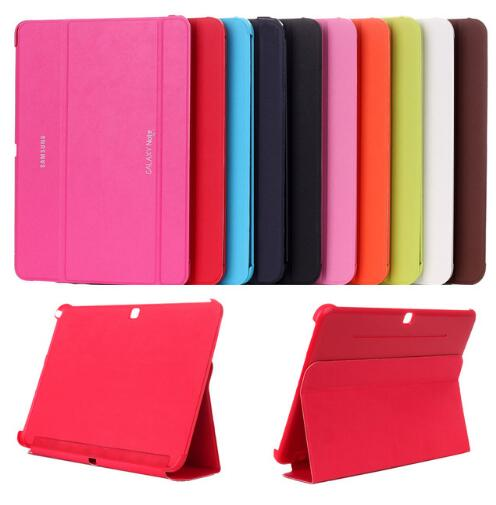 New Business PU Leather Smart Case Stand Cover For Samsung Galaxy Tab 4 10.1 inch 10.1 T530 T531 pu leather tablet case cover for samsung galaxy tab 4 10 1 sm t531 t530 t531 t535 luxury stand case protective shell 10 1 inch