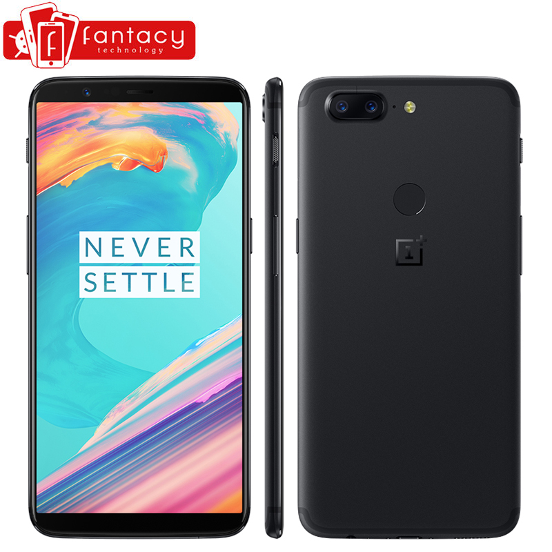 OnePlus 5T 5 T 6 GB 64GB Snapdragon 835 Octa Core 6.01″ 1080x2160P 18:9 20.0MP 16.0MP Fingerprint ID OxygenOS Android SmartPhone
