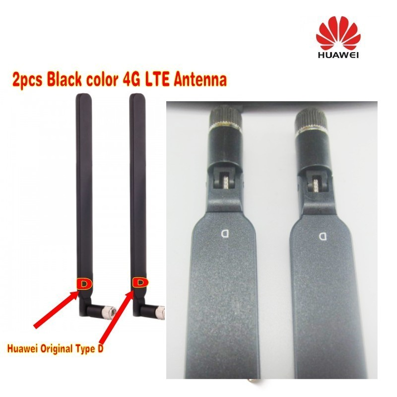 HUAWEI Original 4G LTE External 2x Antenna For B593 B890 B880 SMA D-type Black