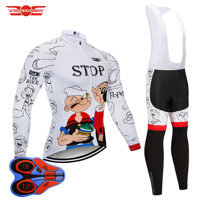 2019 Funny Cycling Jerseys Set Bicycle Wear Clothes Cartoon Bike Clothing Ropa Ciclismo MTB Quick Dry