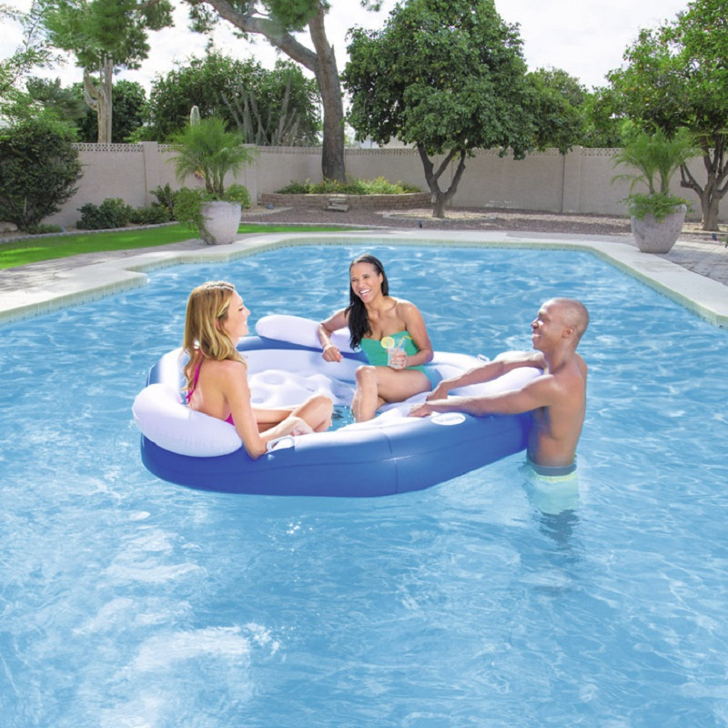 цена на Inflatable Air Mattress Inflatable Mattress For Swimming Water Mattress Inflatable Floating Island Swimming Mattress Sea Chairs