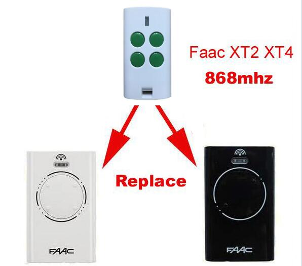 FAAC XT2 XT4 868 SLH replacement garage door remote control 868MHZ fres shipping faac xt2 xt4 868 slh lr replacement garage door remote control 868mhz high quality