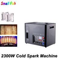 2300W Cold Spark Firework Machine For Wedding Celebration With 6X8W RGBA LEDS Spark Fountain Sparkular Machine For Stage Party