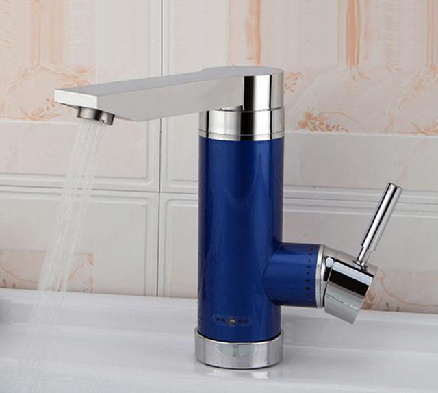 Tankless heißer wasserhahn mit leckage schutz elektrische instant heißer wasserhahn 3000w heizung wasserhahn Wasser Heizung Heizung