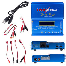 IMAX B6AC charger Lipo NiMH 2S-6S RC Battery Balance Charger B6-AC B6 AC Leads Balancer adapter for rc helicopter