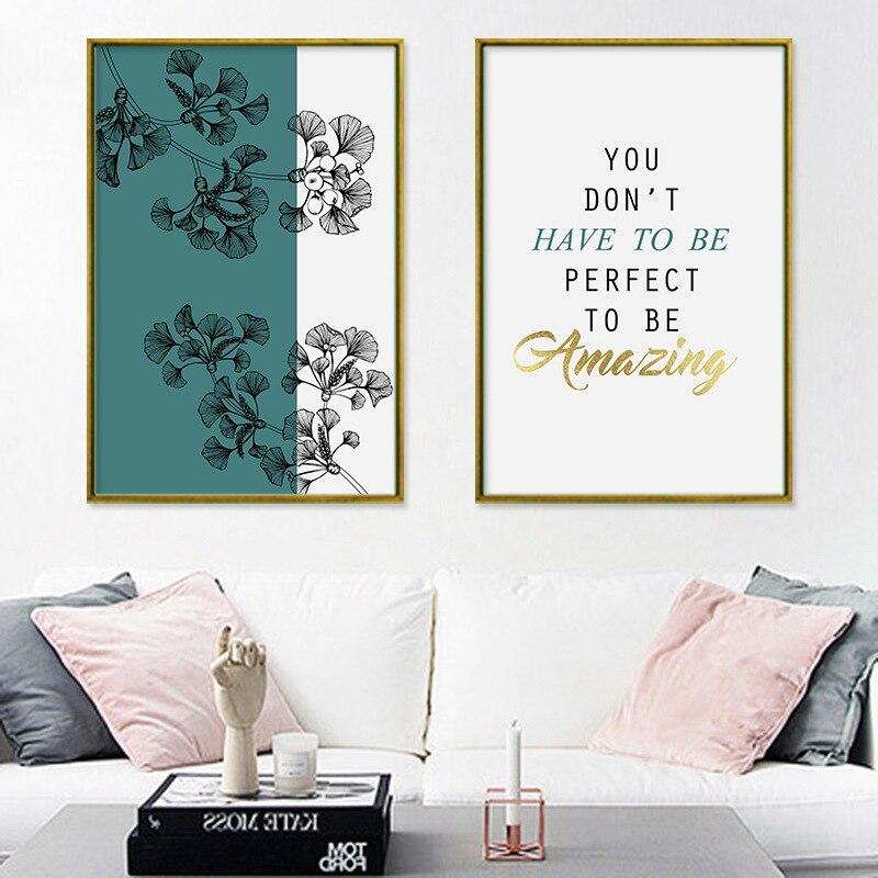 >Newest !!!! <font><b>Nordic</b></font> <font><b>Letter</b></font> Plants Flower Poster Print <font><b>Nordic</b></font> <font><b>Style</b></font> Living Room Big Wall Art Pictures Home Decor Canvas Painting