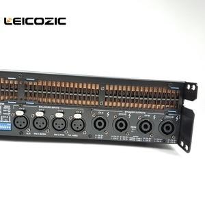Image 2 - Leicozic 2500W 10000q 4 channel Power amplifier class td line array amplificador audio profesional stage amplifiers dj equipment