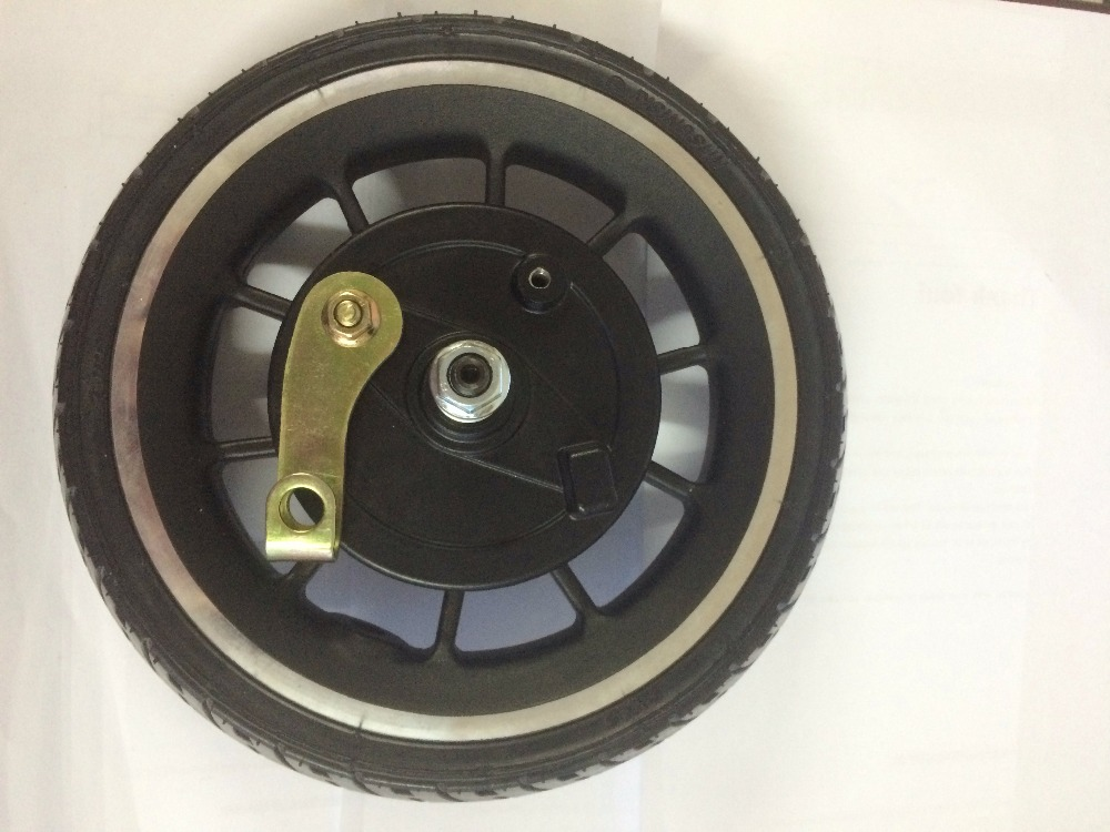 8inch 8.5'' wheel with tubeless tyre no motor no need air 45mm opening for electric scooter e-bicycle Folding bike pedal scooter