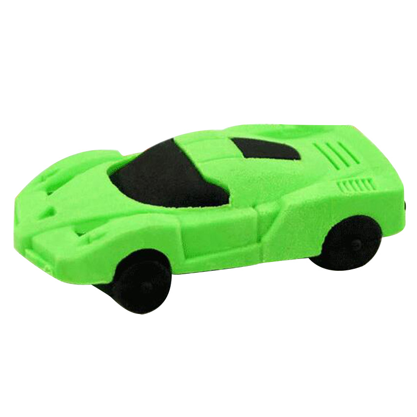 1pcs Random Color Cool Toy Car Shape Eraser Drawing Toys Kids Funny Painting Tools