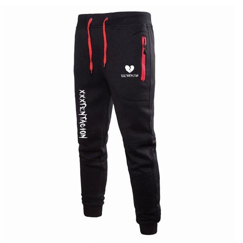 Men Joggers 2018 New Casual Pants Men Brand Clothing High Quality Autumn Long XXXTentacion Black Pants Elastic Male Trousers 3XL