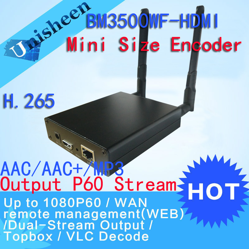H.265 HEVC H.264 wifi HDMI Video Encoder Streaming encoder HDMI Transmitter live Broadcast encoder wireless H264 iptv encoder