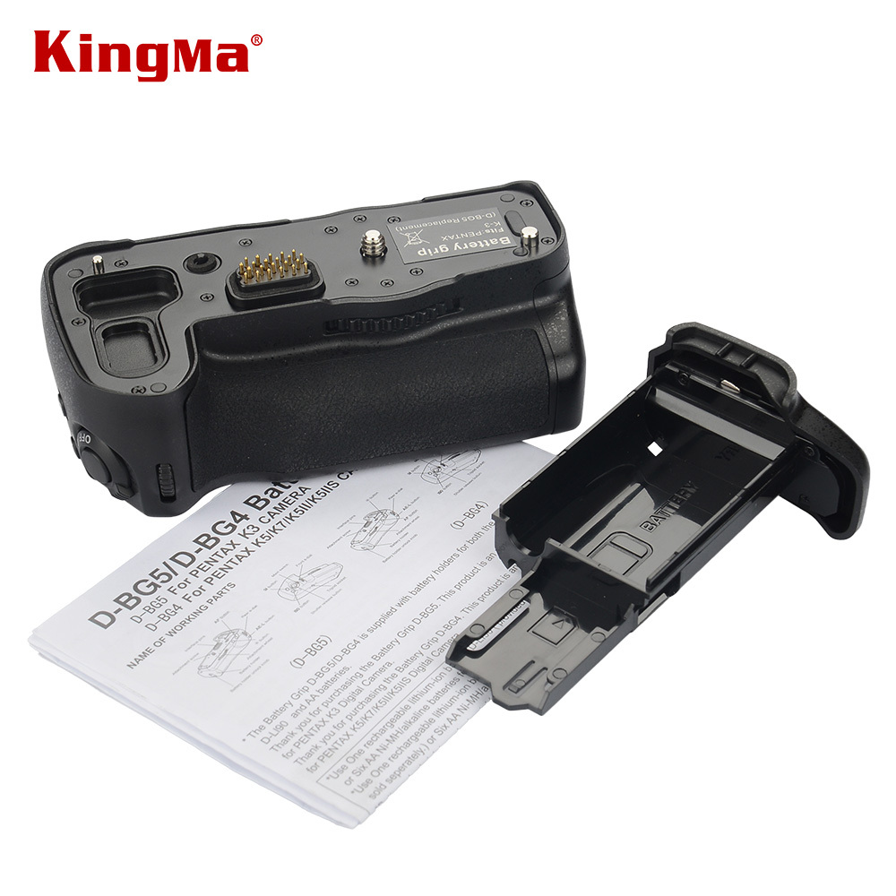 ФОТО Double Handle For Pentax K3 Vertical Multi-Power Battery Grip Holder Replacement For D-BG5 Or Pentax K-3 Camera DSLR Accessories