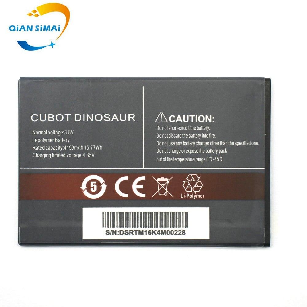 QiAN SiMAi 1 pièces de haute qualité nouvelle batterie de dinosaure CUBOT originale pour téléphone portable de dinosaure CUBOT en stock