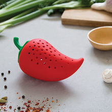 Creative Chili Spice Filter Stew Soup Silicone Seasoning Kit Kitchen Practical Gadgets Spot Wholesale 2018 New Arrival