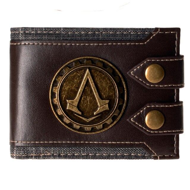 Juego Assassins Creed кошельки cartera monedero de la Косплей accesorio дель traje de los apoyos DFT-1479 дель juguete