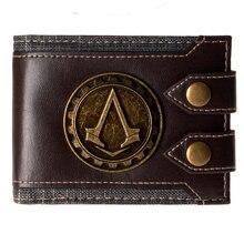 Juego Assassins Creed wallets monedero de la cartera Cosplay accesorio del traje de los apoyos del juguete  DFT-1479
