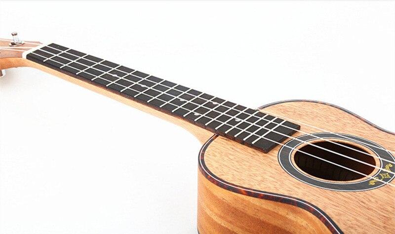23 pouces ukulélé Concert Soprano Ukelele Mini guitare acoustique électrique Ukelele Guitarra instruments à cordes y-09/23 - 5
