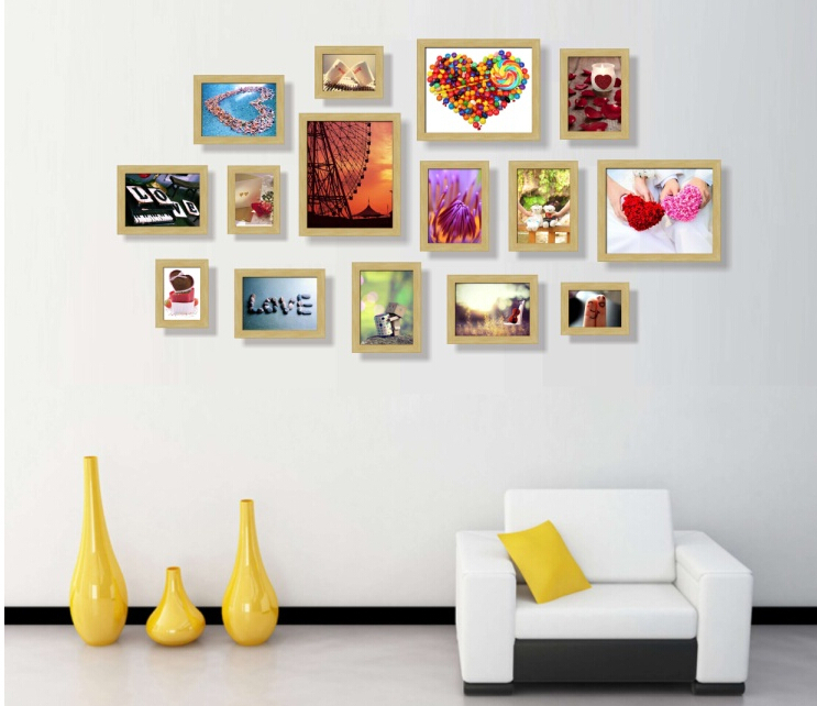 Wall Photo Frame Set Of 15pcs Home Decoration Picture Frames Modern Home  Design Painting Frames In Frame From Home U0026 Garden On Aliexpress.com |  Alibaba ...