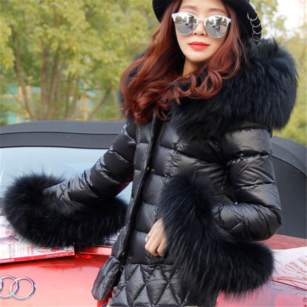 Popular Girl Down Coat Real Fur Hood-Buy Cheap Girl Down Coat Real ...