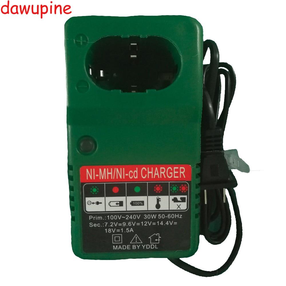dawupine Ni-cd Ni-hm Battery Charger For Makita 7.2V 9.6V 12V 14.4V 18V Battery Electric Drill Screwdriver Accessory DC1414