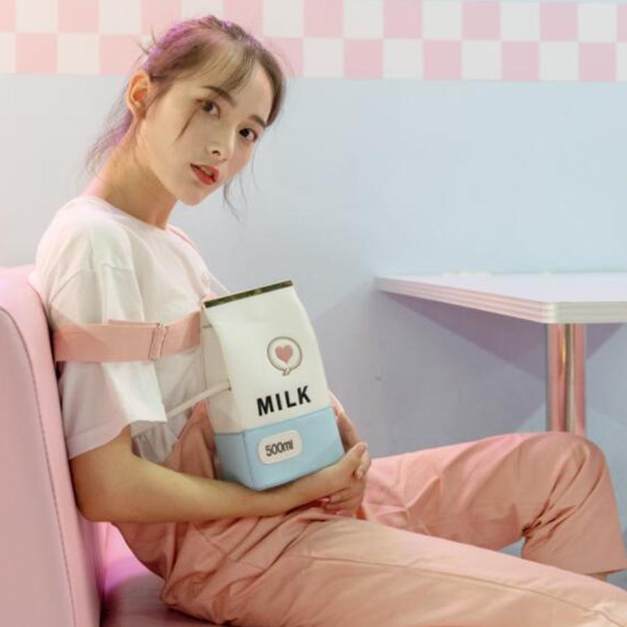 Funnuy Messaggero Blue Telefono Spalla Signore Stile Fumetto Sacchetto Di Japance Scatola Lettera Ricamo Donne Latte Del pink Borsa Kawaii Delle Mini PHxrAwSqP6