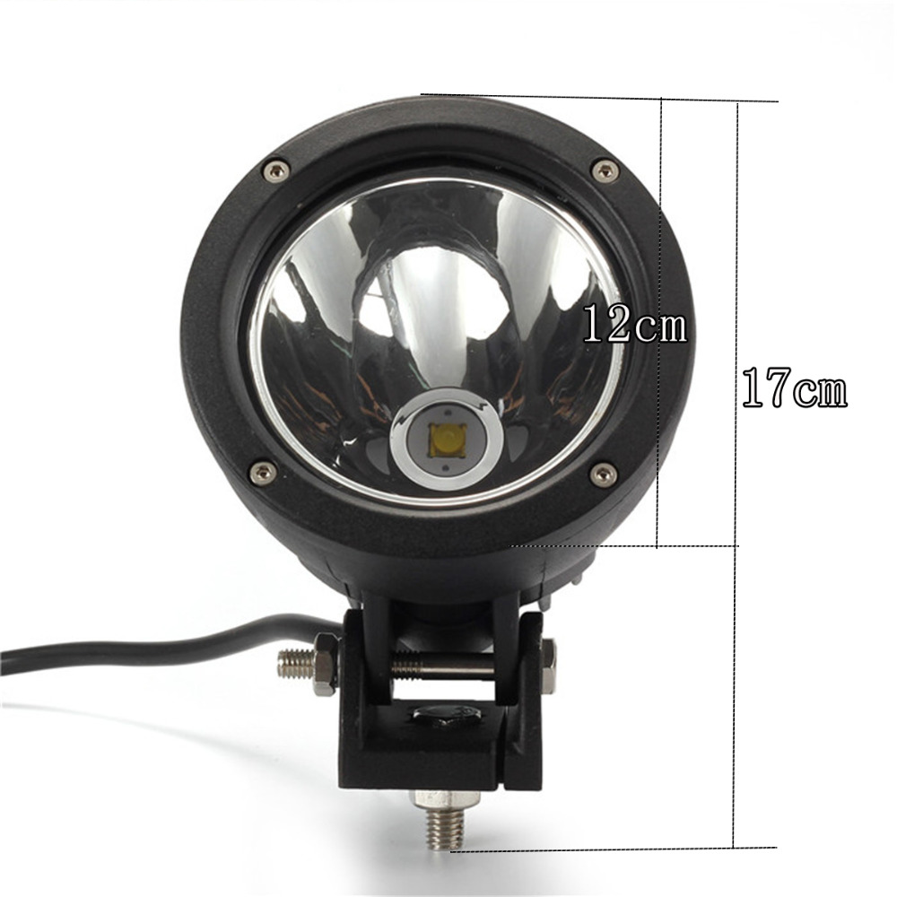24w 12v car led light bar work lamp flood or spot light for motorcycle tractor driving offroad. Black Bedroom Furniture Sets. Home Design Ideas
