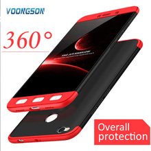 4X 32gb Luxury Hard Shockproof 360 Protection Shell Case For Xiaomi Redmi NOTE 4 Cover Redmi NOTE 4X Pro 64gb Back PC Phone Case