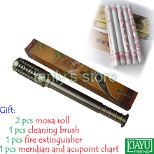 цена на Good quality!  Wholesale & Retail Bronze Big Size Body Moxibustion Device / Moxa cone health product