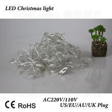 LED Christmas Lights 10m 50 Led AC 110V 220V Led String Light luminaria Garden Tree Outdoor Decoration,1pc/Lot