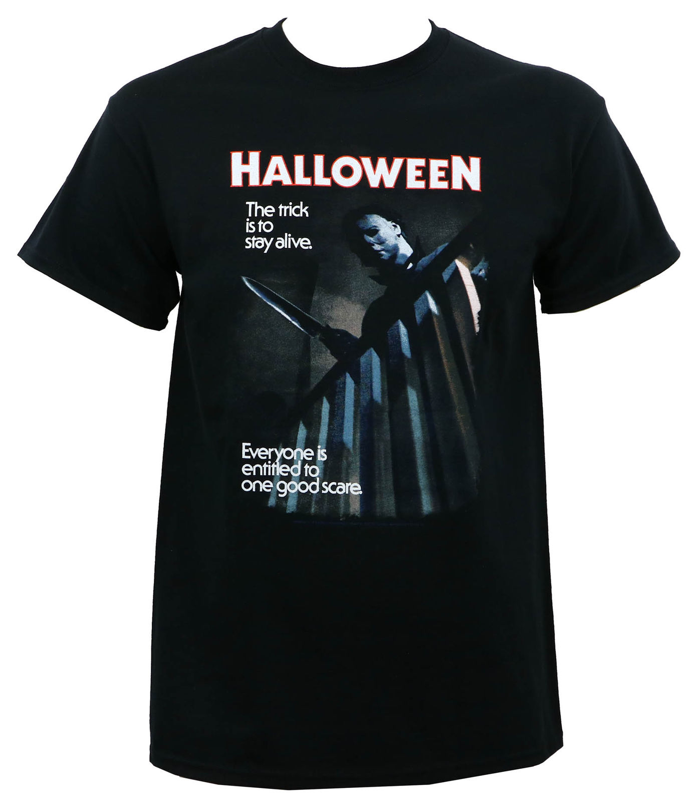 Authentic Halloween Movie One Good Scare Michael Myers T Shirt S M L Xl 2Xl New ...