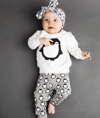 Clothing sets 2016 Spring and Autumn baby boys clothes casual 2pcs (T-shirt + pants) baby girl clothes set newborn infant suit