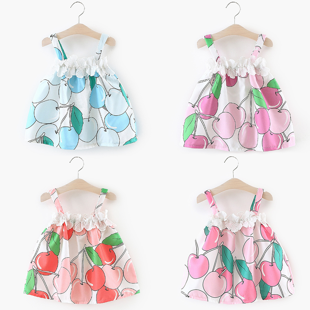 Clearance Baby Girl Dress Toddler Cotton Dresses Lace Flower Girls Apple Dresses for Party Wedding Meisjes Jurk Vestido Daminha