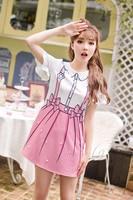 Princess Sweet Lolita Dress Candy Rain Summer Japanese Style Sweet Student Printing Princess Lovely Cartoon Dress