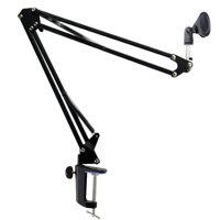 Broadcast Studio Microphone Mic Suspension Boom Scissor Arm Stand