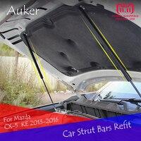 For Mazda CX 5 CX5 KE 1th 2013 2014 2015 2016 Bonnet Hood Supporting Rod Strut Bars Lift Spring Shock Bracket Car Styling 2pcs