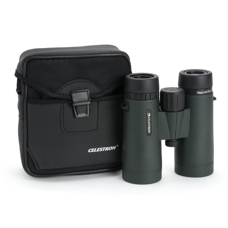 Celestron TrailSeeker 8x42 Binoculars BaK-4 Prisms Wide Field of View Fully Multi-Coated Opitcs for hunting bird watching стоимость