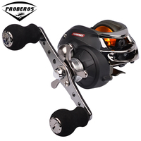 1PC Top Quality Fishing Reel Black Color Lure Reel 9+1 Ball Bearings 300g Right and Left Hand Water Drop Wheel