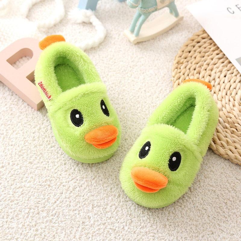 Children-Slippers-Small-Yellow-Duck-Cute-Winter-Cartoon-Shoes-Boy-Girls-Slippers-Kids-Lovely-Animal-Shape-Kids-Shoes-Pantoufles-1