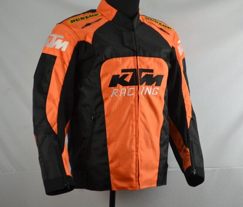 Moto d'équitation résistant aux chocs costume pour ktm locomotive costume quatre saisons racing costume avec amovible doublure en coton