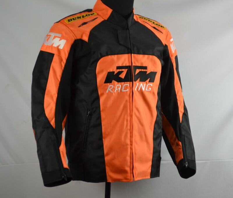 Motorcycle riding shatter-resistant suit for ktm locomotive suit four seasons racing suit with detachable cotton liner new stock arrival 2018 motogp motorcycle shatter resistant riding suit racing suit for dain